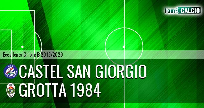 Castel San Giorgio - Grotta 1984