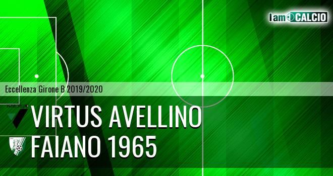 Virtus Avellino - Faiano 1965