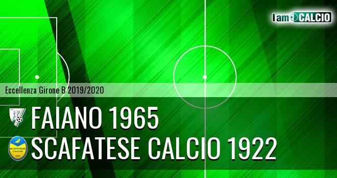 Faiano 1965 - Scafatese Calcio 1922