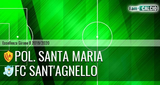 Pol. Santa Maria - FC Sant'Agnello