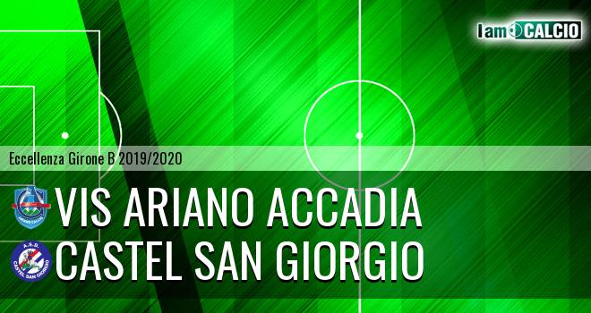 Vis Ariano Accadia - Castel San Giorgio