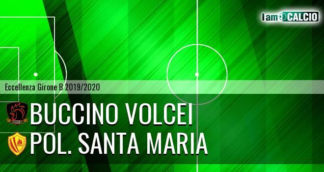 Buccino Volcei - Pol. Santa Maria