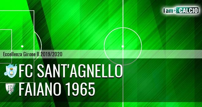 FC Sant'Agnello - Faiano 1965