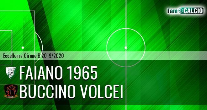 Faiano 1965 - Buccino Volcei