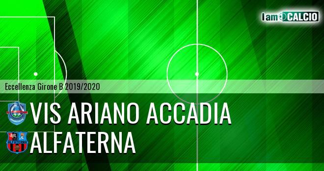 Vis Ariano Accadia - Alfaterna