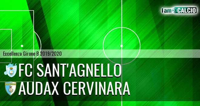 FC Sant'Agnello - Audax Cervinara