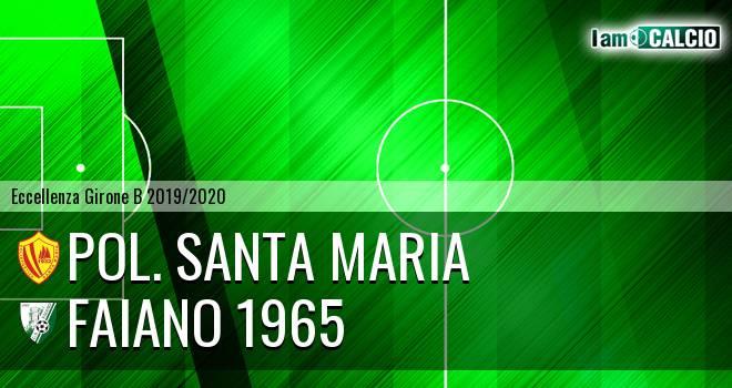 Pol. Santa Maria - Faiano 1965