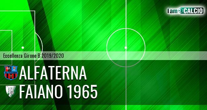 Alfaterna - Faiano 1965