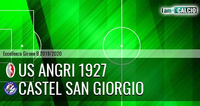 Us Angri 1927 - Castel San Giorgio