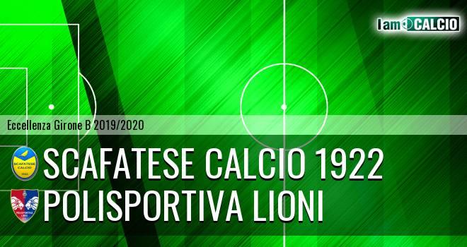 Scafatese Calcio 1922 - Polisportiva Lioni