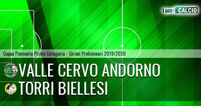 Valle Cervo Andorno - Torri Biellesi