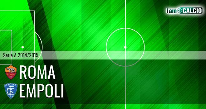 Roma - Empoli 1-1. Cronaca Diretta 31/01/2015