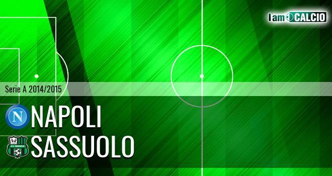 Napoli - Sassuolo 2-0. Cronaca Diretta 23/02/2015