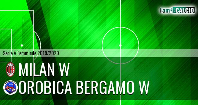 Milan W - Orobica Bergamo W