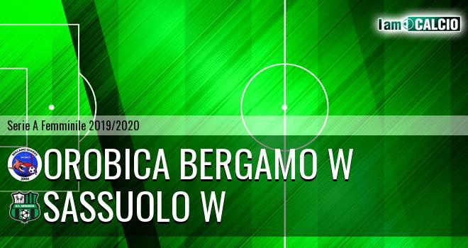 Orobica Bergamo W - Sassuolo W