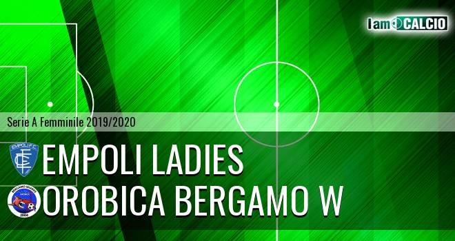 Empoli Ladies - Orobica Bergamo W