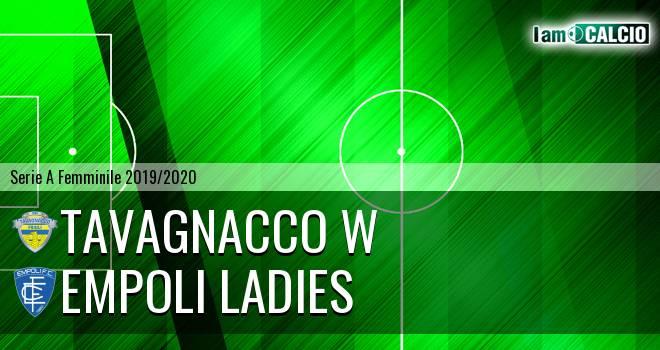 Tavagnacco W - Empoli Ladies