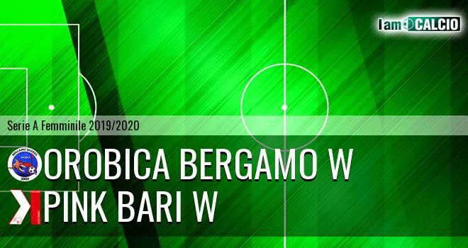 Orobica Bergamo W - Pink Bari W