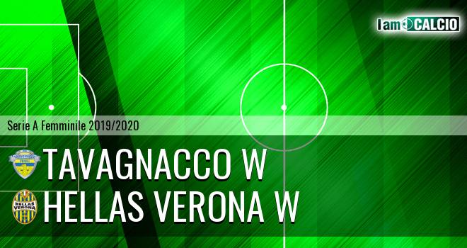 Tavagnacco W - Hellas Verona W