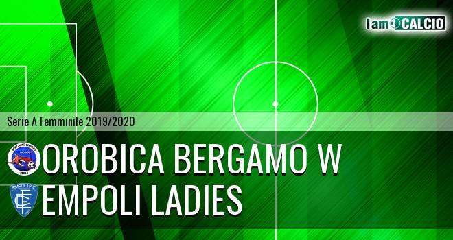 Orobica Bergamo W - Empoli Ladies