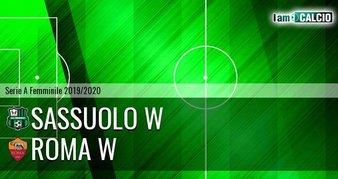 Sassuolo W - Roma W
