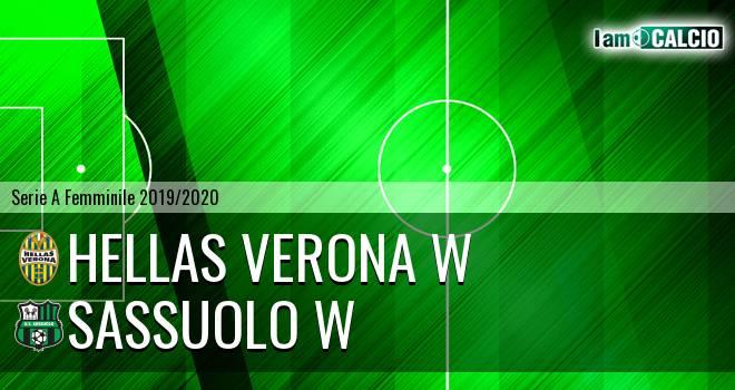 Hellas Verona W - Sassuolo W