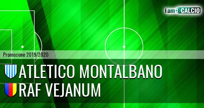 Atletico Montalbano - Raf Vejanum
