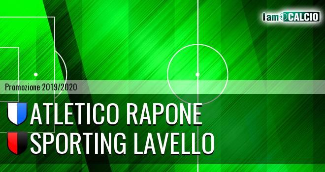 Atletico Rapone - Sporting Lavello