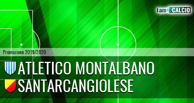 Atletico Montalbano - Santarcangiolese