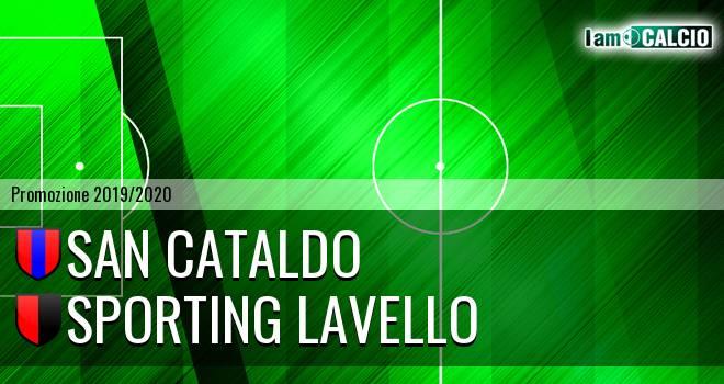 San Cataldo - Sporting Lavello