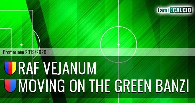 Raf Vejanum - Moving on the Green Banzi