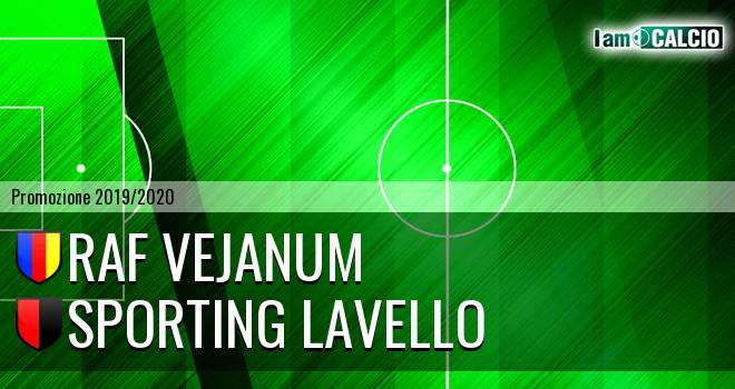 Raf Vejanum - Sporting Lavello