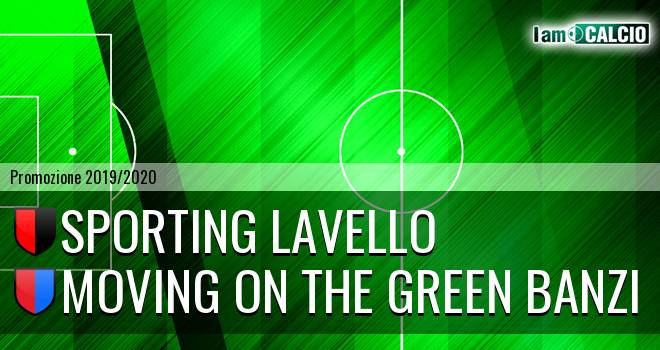 Sporting Lavello - Moving on the Green Banzi