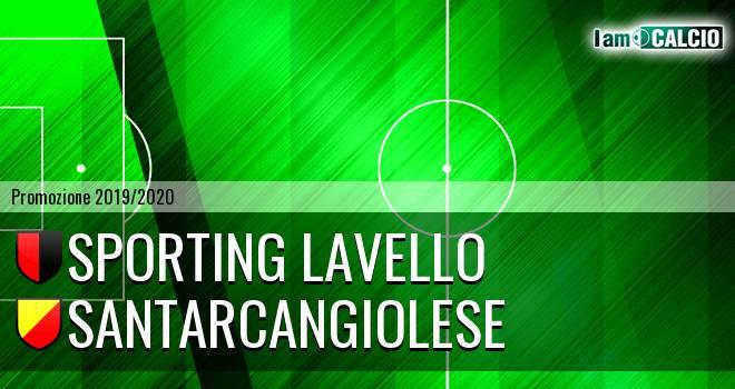 Sporting Lavello - Santarcangiolese