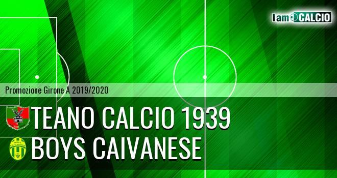 Teano Calcio 1939 - Boys Caivanese