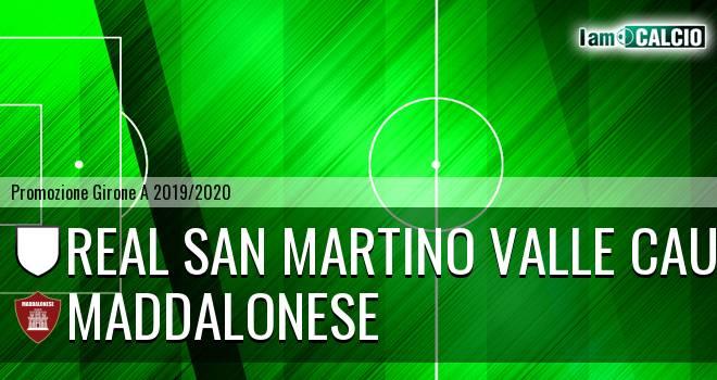 Real San Martino Valle Caudina - Maddalonese