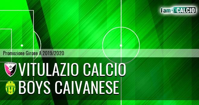 Vitulazio Calcio - Boys Caivanese