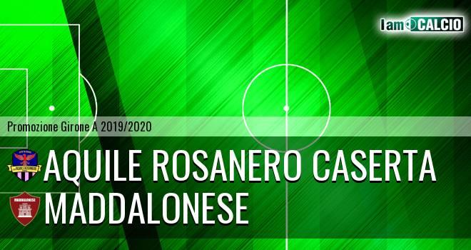 Aquile Rosanero Caserta - Maddalonese
