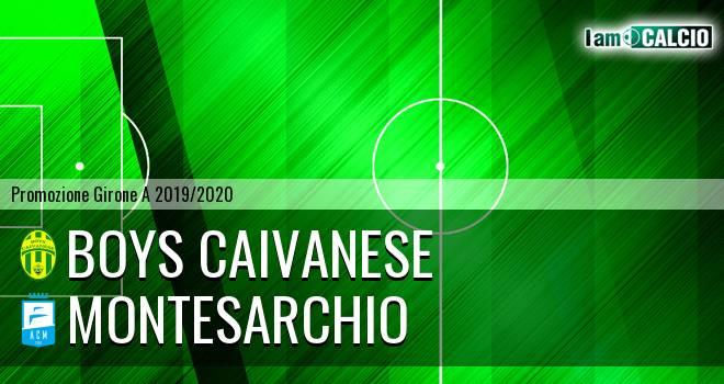 Boys Caivanese - Montesarchio