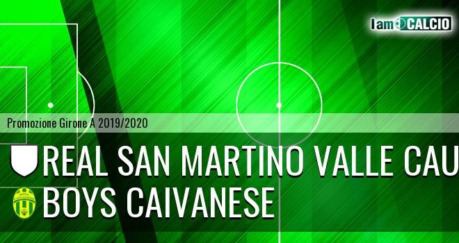 Real San Martino Valle Caudina - Boys Caivanese