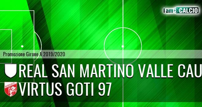 Real San Martino Valle Caudina - Virtus Goti 97