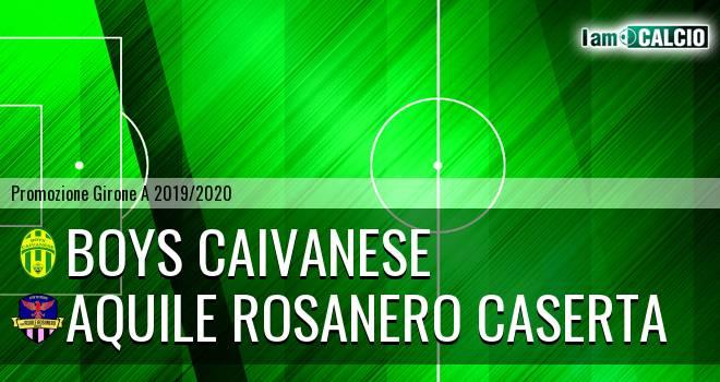 Boys Caivanese - Aquile Rosanero Caserta