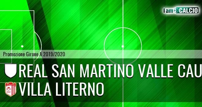 Real San Martino Valle Caudina - Villa Literno