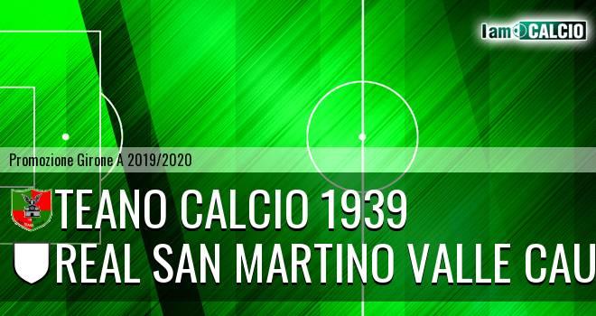 Teano Calcio 1939 - Real San Martino Valle Caudina