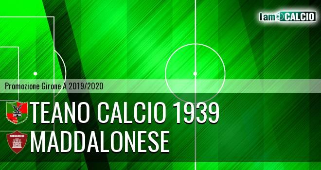 Teano Calcio 1939 - Maddalonese