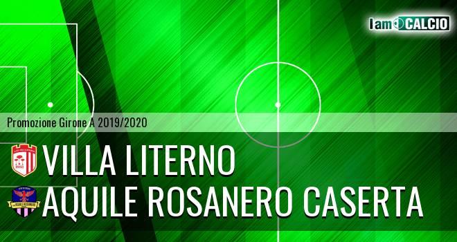 Villa Literno - Aquile Rosanero Caserta