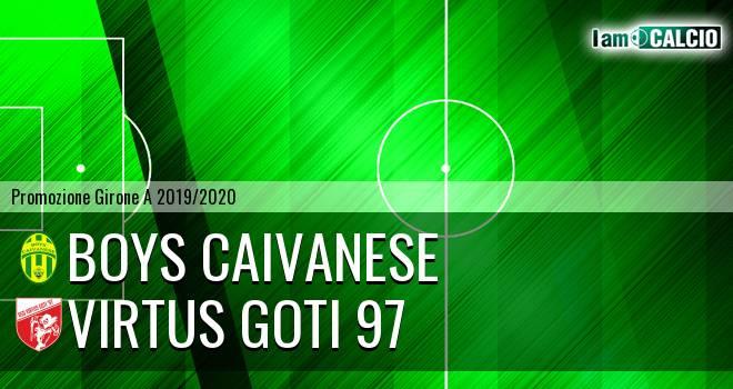 Boys Caivanese - Virtus Goti 97