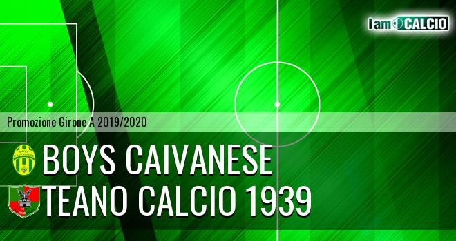 Boys Caivanese - Teano Calcio 1939