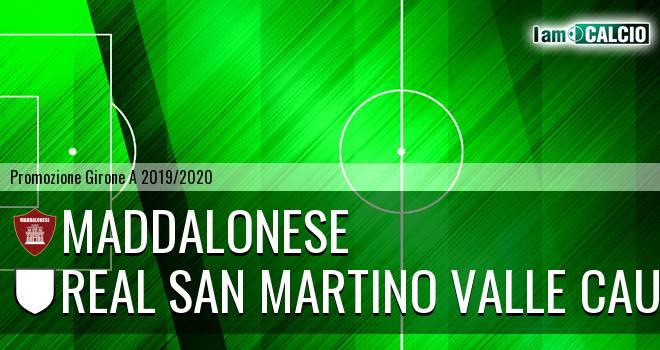 Maddalonese - Real San Martino Valle Caudina