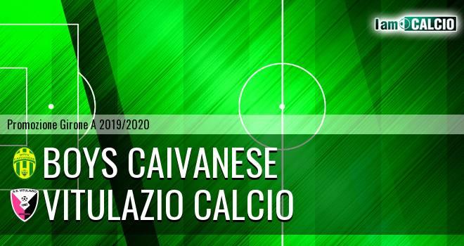 Boys Caivanese - Vitulazio Calcio